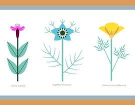 #75 for Vector Flower Icons by ruthestherpark