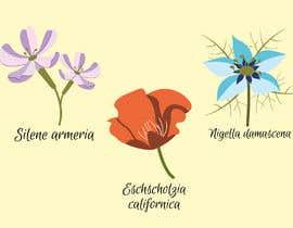 #71 for Vector Flower Icons by christinasheketa