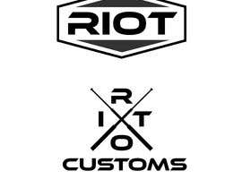 #176 для I need a logo for 'Riot Customs' custom motorcycle garage. Please see description. от MonzirulIslam166