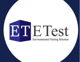 "#60 cho See attached flyer. I need a modern looking logo for our new company ""ETest, Inc."" Please add as part of logo,""Environmental Testing Solutions"". bởi mdsamirr"
