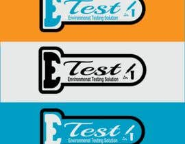 "#66 cho See attached flyer. I need a modern looking logo for our new company ""ETest, Inc."" Please add as part of logo,""Environmental Testing Solutions"". bởi mdsamirr"