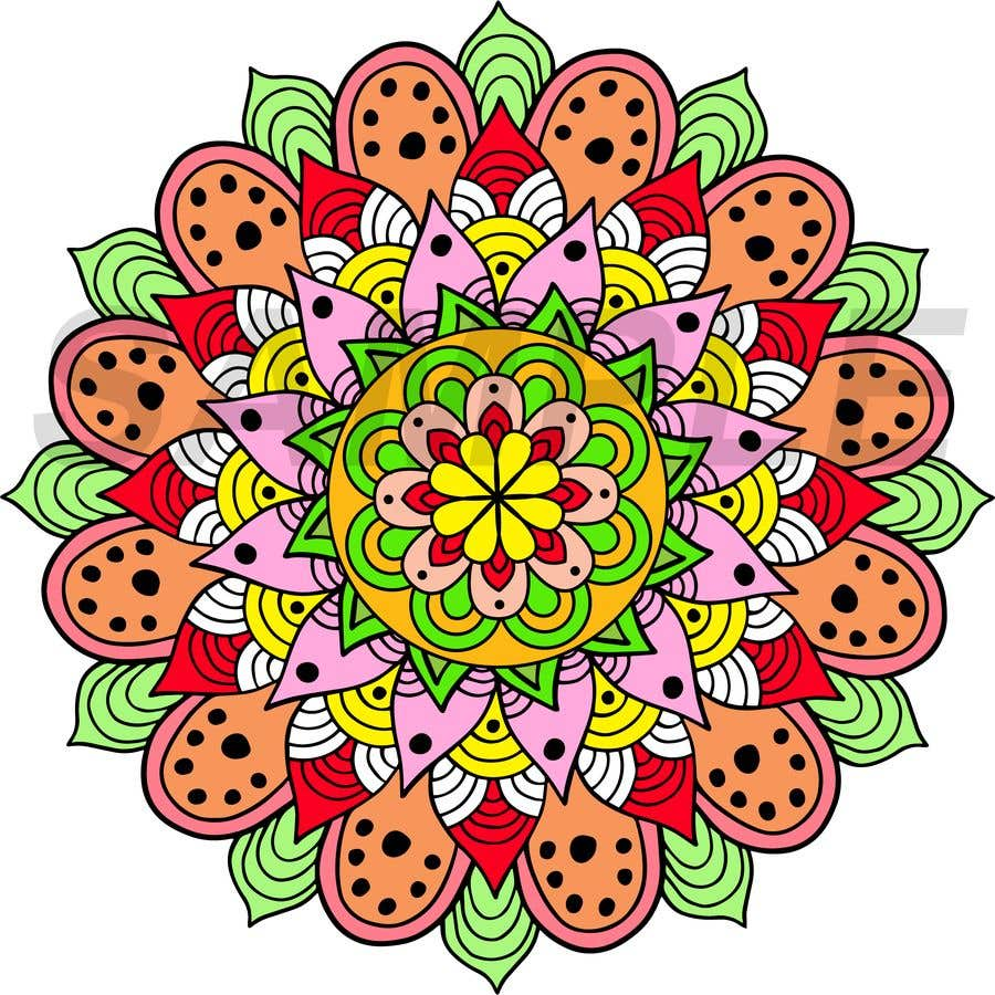 Penyertaan Peraduan #                                        11                                      untuk                                         I need the below mandalas colored interior, and lines if needed. All 15.  if the job is good i will provide more work for youq