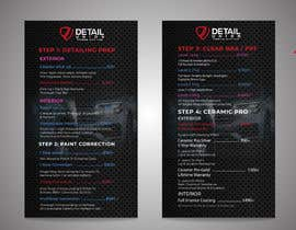 #36 untuk Redesign Automotive Menu oleh UniqueDesign36