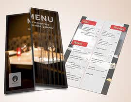 #19 for Design a Restaurant Menu for Modern Japanese Restaurant by AM2design