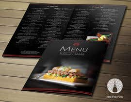 #30 untuk Design a Restaurant Menu for Modern Japanese Restaurant oleh DesignerKorin