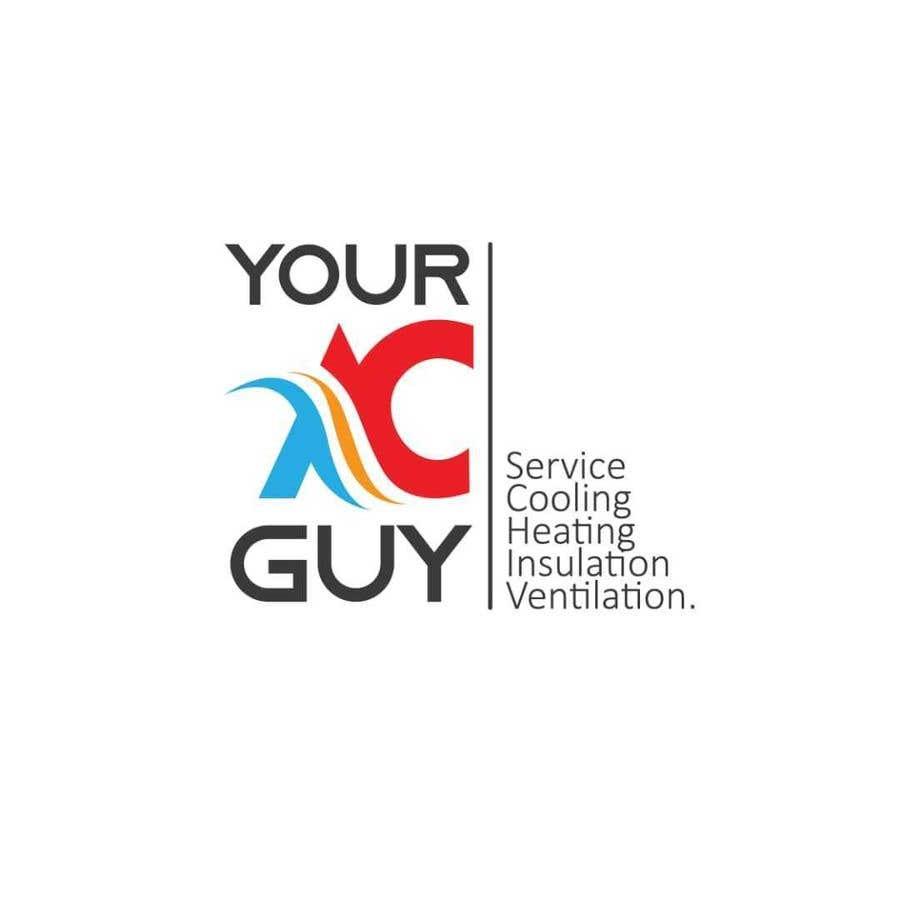 Bài tham dự cuộc thi #                                        223                                      cho                                         Air conditioner company logo (Your AC GUY)