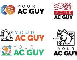 #225 cho Air conditioner company logo (Your AC GUY) bởi anthonyallred