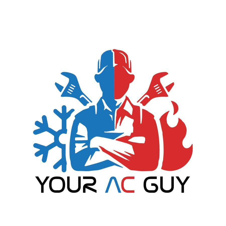 Bài tham dự cuộc thi #                                        235                                      cho                                         Air conditioner company logo (Your AC GUY)