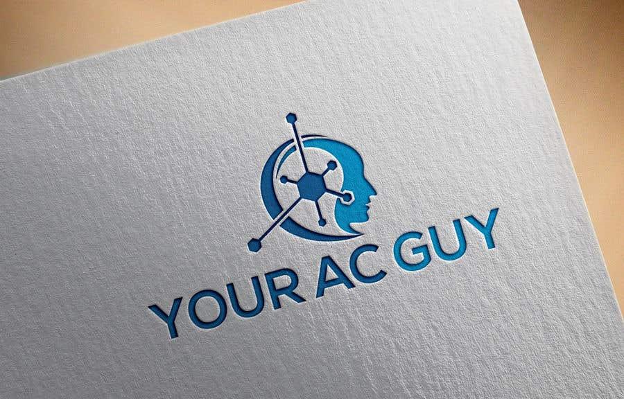 Bài tham dự cuộc thi #                                        227                                      cho                                         Air conditioner company logo (Your AC GUY)