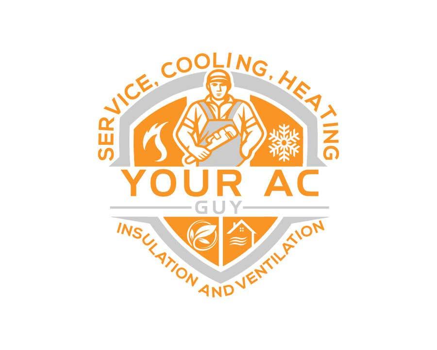 Bài tham dự cuộc thi #                                        177                                      cho                                         Air conditioner company logo (Your AC GUY)