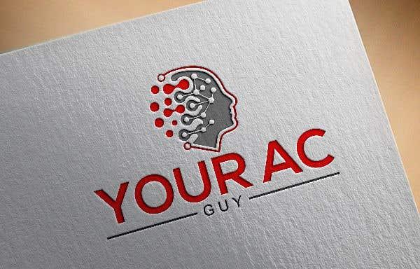 Bài tham dự cuộc thi #                                        218                                      cho                                         Air conditioner company logo (Your AC GUY)