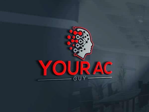 Bài tham dự cuộc thi #                                        219                                      cho                                         Air conditioner company logo (Your AC GUY)