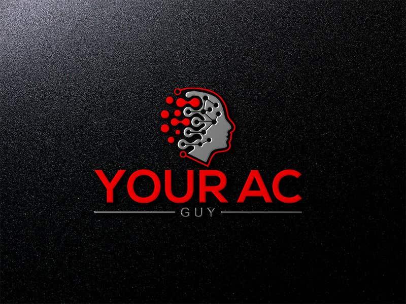 Bài tham dự cuộc thi #                                        220                                      cho                                         Air conditioner company logo (Your AC GUY)