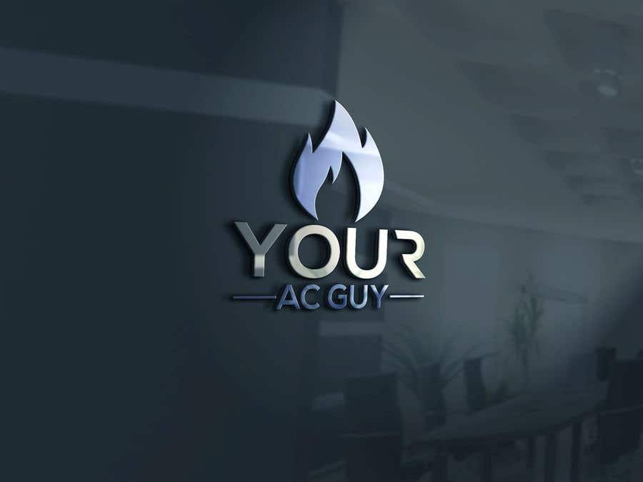 Bài tham dự cuộc thi #                                        112                                      cho                                         Air conditioner company logo (Your AC GUY)