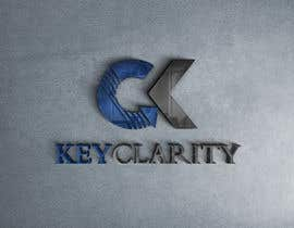 "#201 для I need a logo for ""Keyclarity"". My initials are CK if u can put CK on top of each other But also include the entire name ""Keyclarity"". use the corlors blue and green and a neutral color like black or white. include something that represents clarity от MoElnhas"