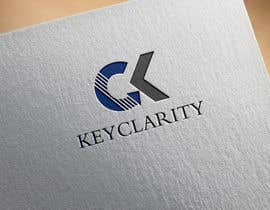 "#209 для I need a logo for ""Keyclarity"". My initials are CK if u can put CK on top of each other But also include the entire name ""Keyclarity"". use the corlors blue and green and a neutral color like black or white. include something that represents clarity от MoElnhas"