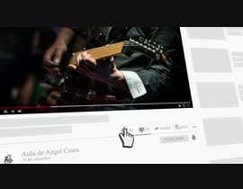 Nro 21 kilpailuun Video Intro for Youtube Channel -  Video de introducción para canal de Youtube - Guitar Tutorials käyttäjältä esmailshawky20we