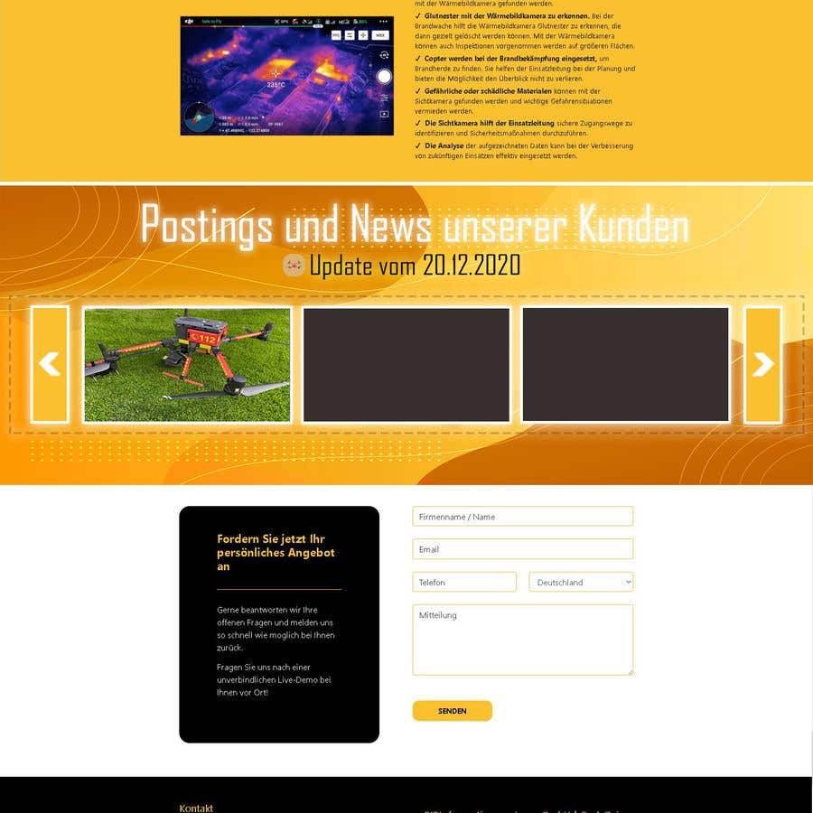 Konkurrenceindlæg #                                        16                                      for                                         Design a Overlay that displays social media posts + Design a Slider that displays thumbnails of these posts