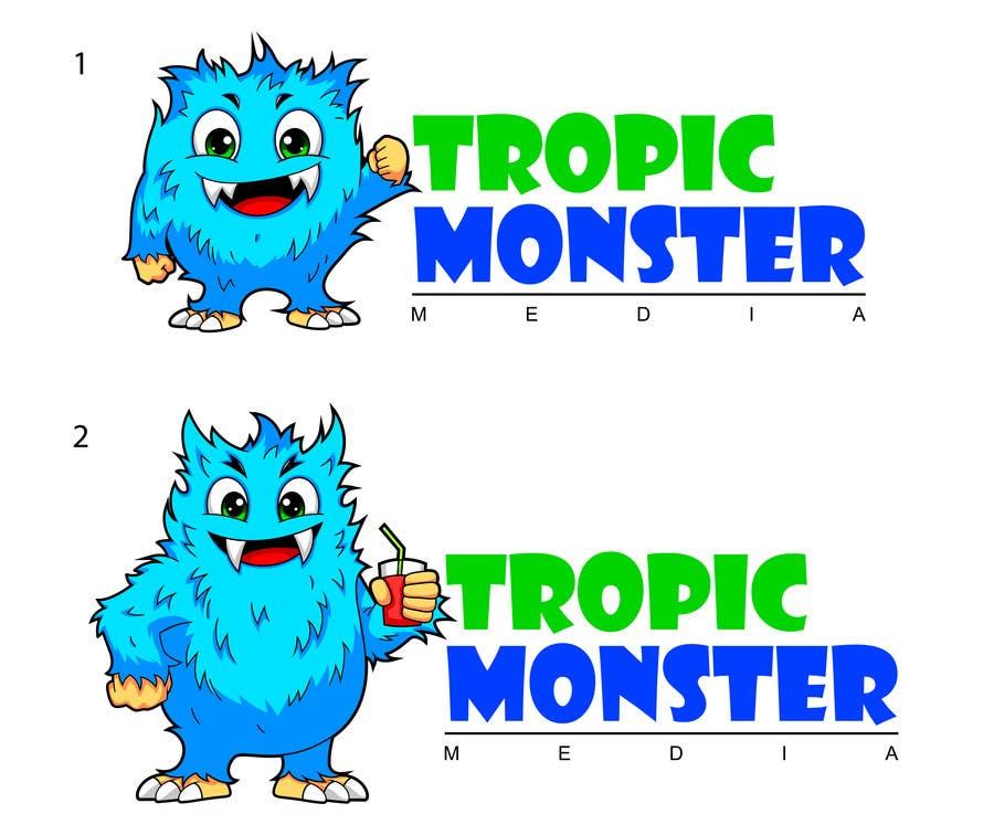 Inscrição nº 106 do Concurso para Design a Cartoon Monster for a Media Company