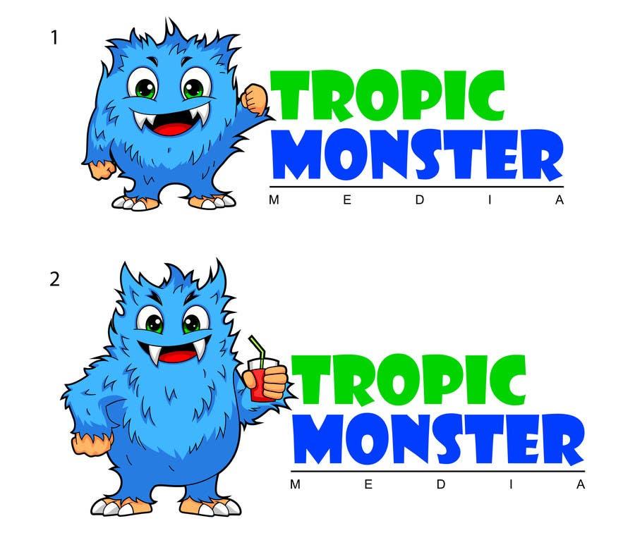 Inscrição nº 107 do Concurso para Design a Cartoon Monster for a Media Company