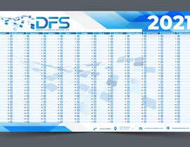 #31 for create a 2021 calendar for print by ashar1008