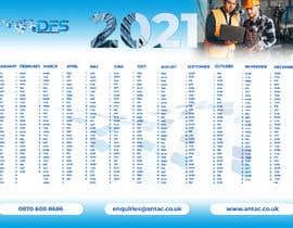 #37 for create a 2021 calendar for print by malikanisur