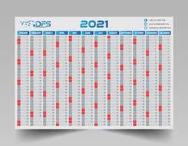 #36 for create a 2021 calendar for print by mushfik507