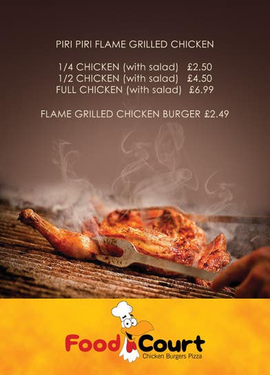#3 for Poster design for a fast food restaurant by saherkhan