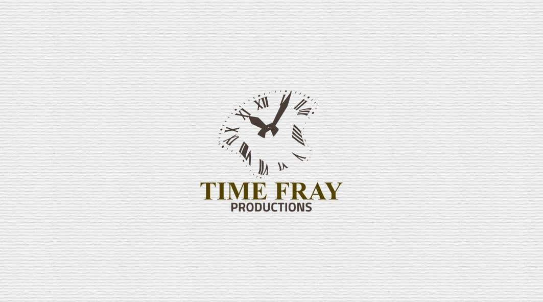 Penyertaan Peraduan #                                        28                                      untuk                                         Time Fray Productions Logo