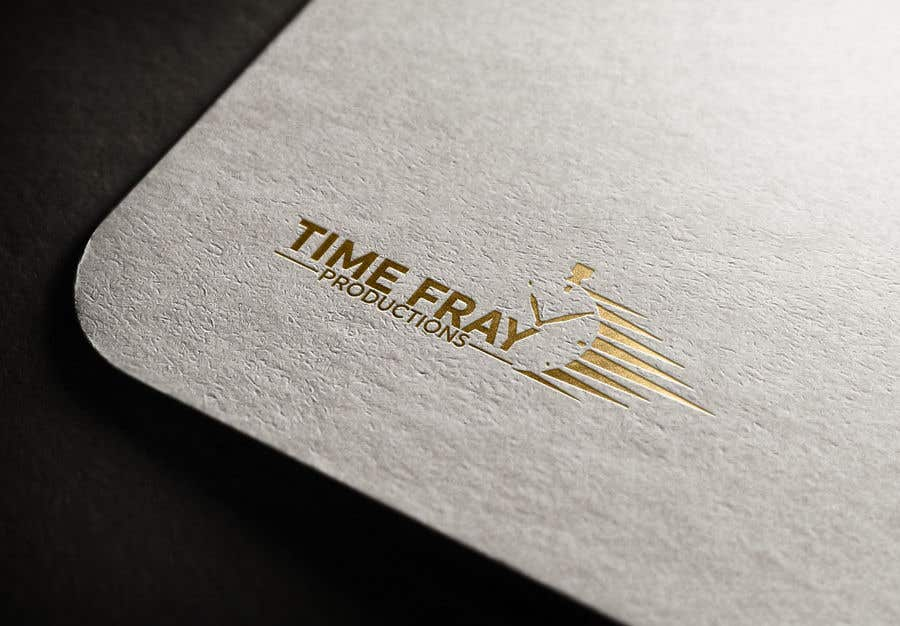 Contest Entry #                                        84                                      for                                         Time Fray Productions Logo