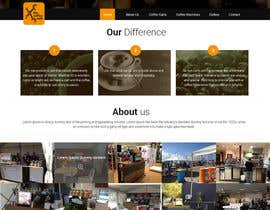 #25 para Design a Website Mockup for a Mobile Coffee Business de designcreativ