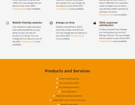 #21 for Design a Website Mockup for a Mobile Coffee Business by Jimsaurus