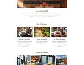 #4 para Design a Website Mockup for a Mobile Coffee Business de shabcreation