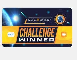 #457 for NASA Contest:  We Need a Cool Virtual Background to Celebrate our Program Winners by shinydesign6