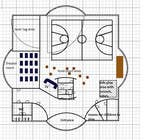 Building Architecture Contest Entry #7 for Floor plan/interior ideas for gaming business