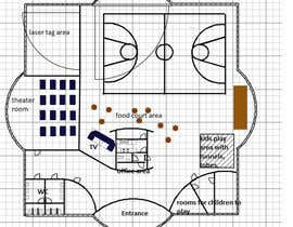 #7 for Floor plan/interior ideas for gaming business by vpomirkovana