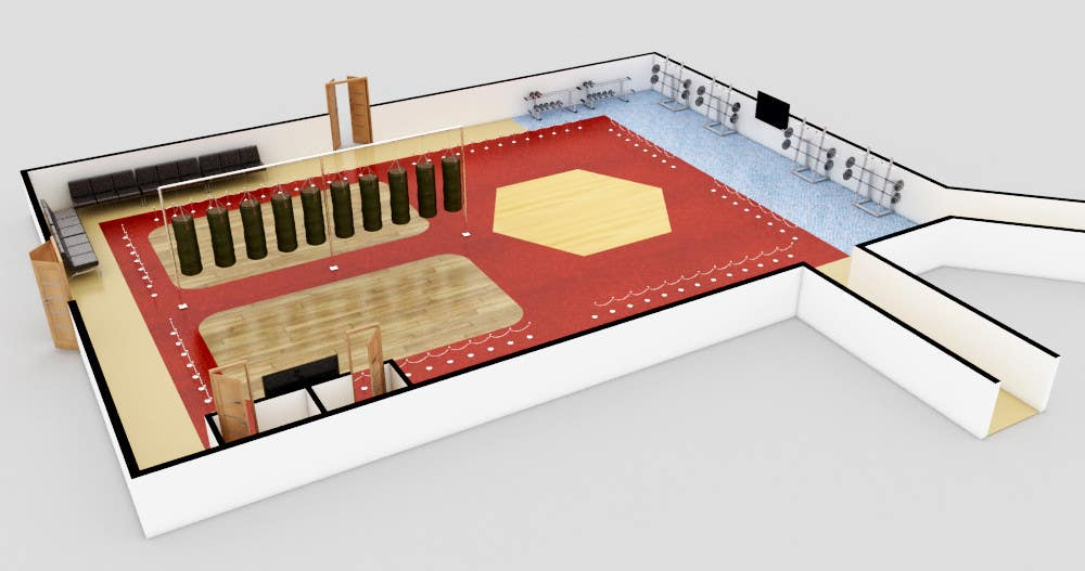 Contest Entry #                                        21                                      for                                         Floor plan/interior ideas for gaming business