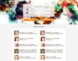 #8 para Website Layout and Design for New Mega-Platform: Tributr por firethreedesigns