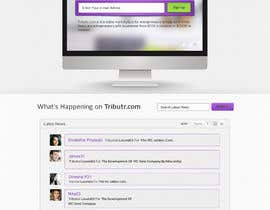 #6 for Website Layout and Design for New Mega-Platform: Tributr by Bkreative