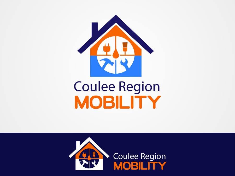 Konkurrenceindlæg #                                        56                                      for                                         Design a Logo for Coulee Region Mobility