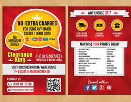 #20 for Design a Flyer for Clearance King by sunryu06