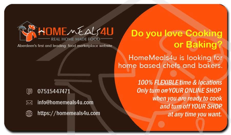 Contest Entry #                                        11                                      for                                         Design a Flyer for HomeMeals4u