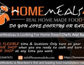 #12 for Design a Flyer for HomeMeals4u by clusterG