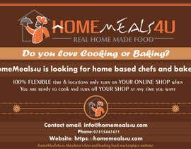 #5 for Design a Flyer for HomeMeals4u by Gtechfreelance