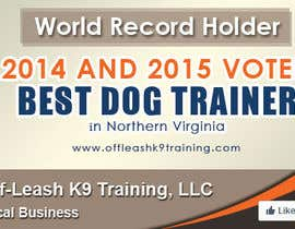 #54 za Design a Banner for Dog Training Business od damirruff86