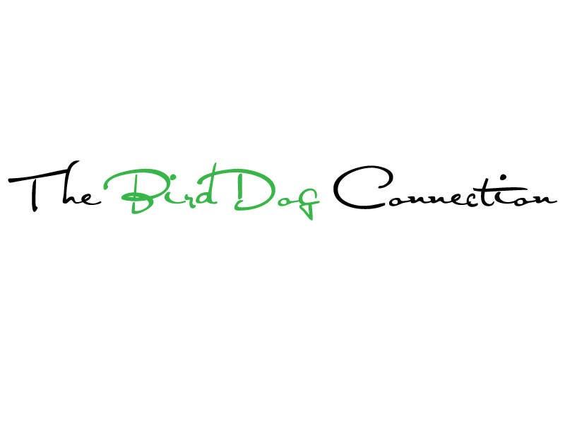"""Konkurrenceindlæg #                                        5                                      for                                         Design a Logo for """"The BirdDog Connection"""""""