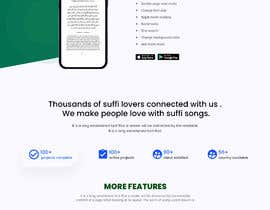 #37 cho Redesign Mobile App Landing Page bởi tareque62