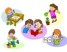 #37 illustrations for books, posters, preschool activities részére easd20 által