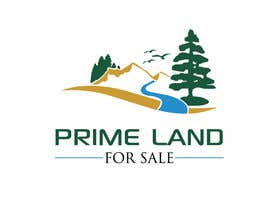 #32 cho Prime Land for Sale Logo bởi ArtStick