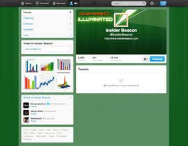 #6 for Twitter Background Design for Financial/Stocks/Trading Tool Website af Utnapistin